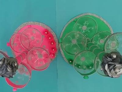 Best Out of Waste   Plastic Bottle    Home Decor Flower Showpiece    DIY Home Decoration Ideas C.A