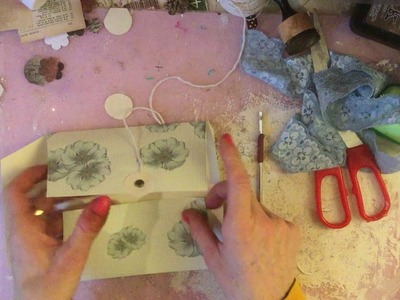 Craft Along - Making Paper Wallets. Pouch - TUTORIAL - Fabulous Flowers - Episode 6