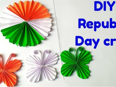 DIY 2 Easy Republic Day. Independence Day Craft.Paper craft ideas