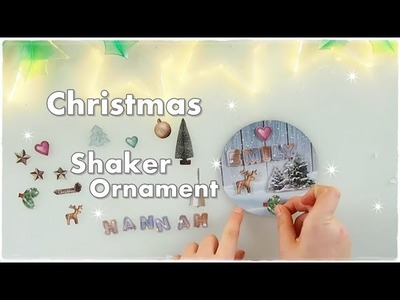 ???? DIY Christmas Shaker Ornament with Snow ❀ Emily's Small World ❀