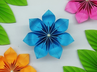 DIY Easy Paper Flowers Tutorial | How to make Paper Flower