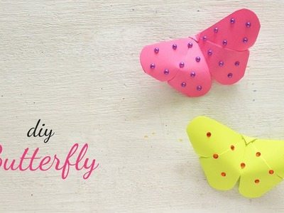 DIY Paper Butterfly | Simple Craft Ideas | Ventunoart