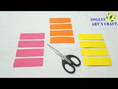 DIY Simple & Easy Paper Flower | Flower Making with Paper | Make Realistic Flower with Paper