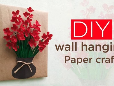 DIY wall hanging.Paper craft