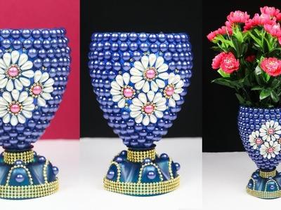 Flower Vase Out Of Waste Plastic Bottle   DIY Best Out Of Waste Idea   Plastic Bottle Craft Ideas