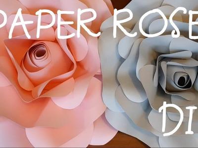 Paper Rose DIY 2019