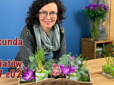 Sekunda dla Kwiatów S07 E02 - drobny upominek kwiatowy (Florist DIY: tiny flower arrangement)