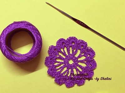 #Step by step #DIY | #Howto make a #Beautiful #Crochet #flower | – Episode 59