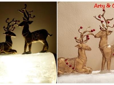 Antique Home Decor.Unique Clay Craft.Christmas Decor Idea.Best Out of Waste.Shilpkar