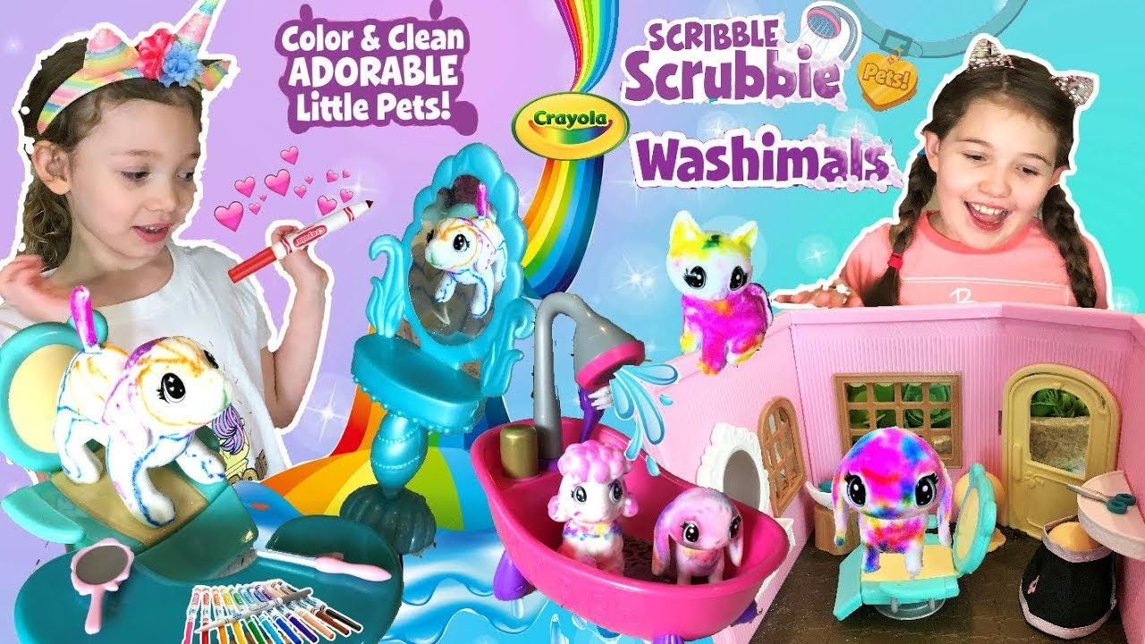 Best Girls Craft Toys For Christmas 2018 Washimals Pets