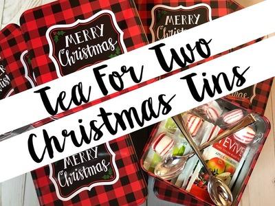 •BONUS• Craft Fair Idea:  Tea for Two Tins! | 2018