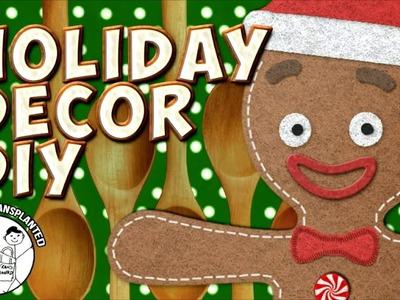 Christmas Craft Gingerbread Man Decor DIY