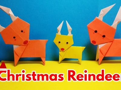 Christmas Reindeer DIY   Santa Claus Reindeer   Easy Craft Ideas