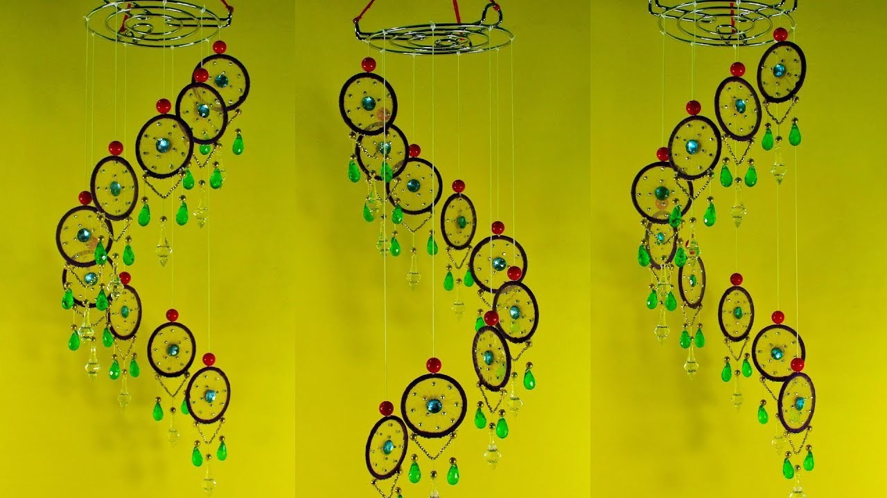 DIY-Art-and-Craft-Out-Of-Old-Bangles   Waste-Bangles-Wind-Chimes