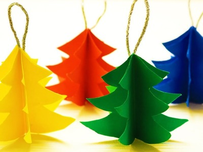 DIY Christmas Tree Craft Ideas  Easy Christmas Tree Craft Ideas