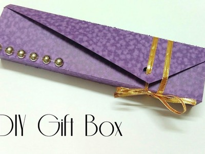 DIY Gift Box | Easy Bracelet or Watch Gift box | Art, Craft and Health