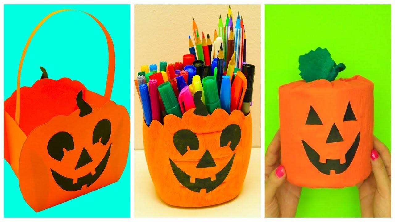 DIY Halloween Craft Ideas | Pumpkin Craft Ideas For Halloween