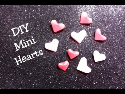 DIY Mini Heart-How to make Easy Mini Paper Heart-Paper craft