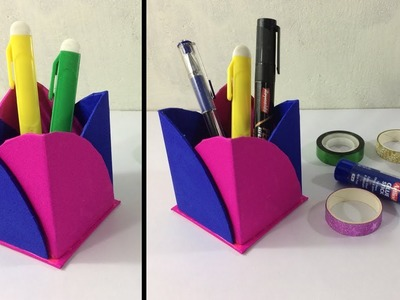 DIY Pen & Pencil Holder   Best craft idea   paper craft ideas   Cool idea you should know