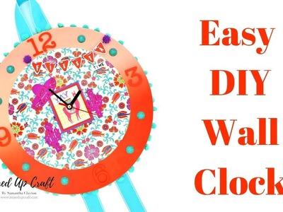 DIY Wall Clock | Craft Fair Idea | Craft Room Decor