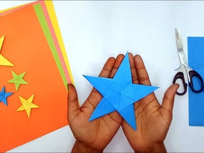 Easy Origami Star     How To Make Paper Stars    Easy Craft Ideas 2018