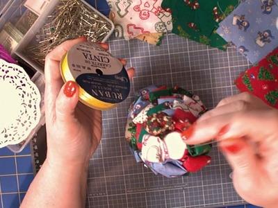 Fabric Christmas Tree craft part 2