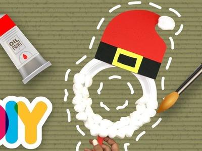 Fast-n-Easy | Santa Mask ???????? Paper Plate Craft | DIY Arts & Crafts for Kids