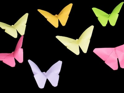 How To Make Butterfly From Paper ( Very Easy ) || Diy Craft || Oddmenot Craft
