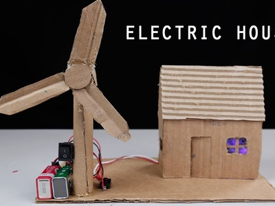 How to make Electric House | DIY Easy Craft Electric House