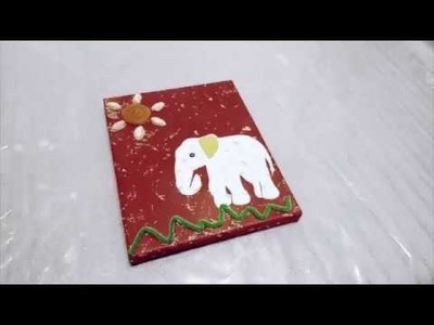 How To Make Elephant Collage For Kids | Artango Art & Craft
