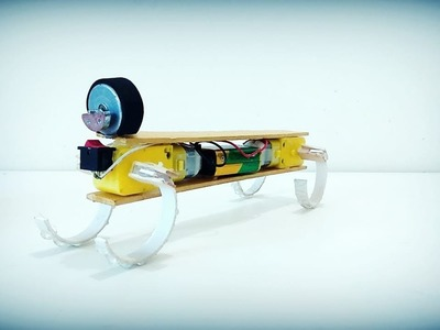 How To Make Walking Robot   And & Craft Idea