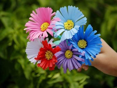 Make beautiful & fantastic Gerbera flower from paper || Decorative Craft Ideas || Art Of Learning ||