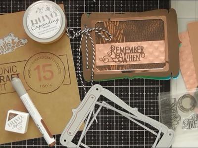 Mini Memento Art Journal with Tonic Craft Kit #15 :D