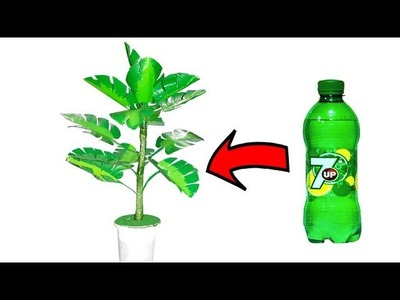 Plastic bottle craft ideas tree best out of waste plastic bottle reuse ideas Artificial tree