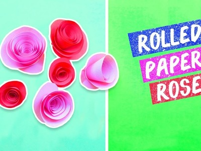 Rose Abc Tv How To Make Paper Rose Balls Flower Die Cuts Craft