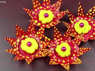 Woolen Crafts Idea || Craft ideas with waste materials - Best reuse ideas - DIY arts and crafts