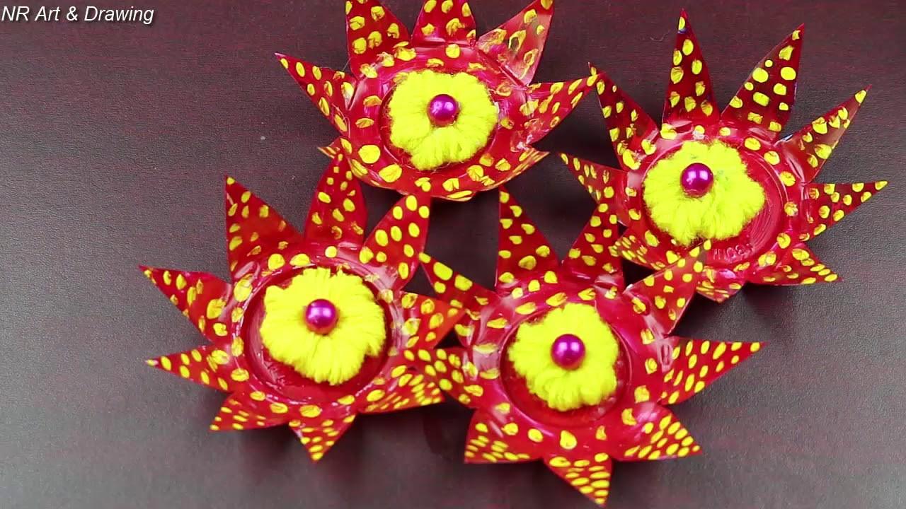 Woolen Crafts Idea Craft Ideas With Waste Materials Best Reuse