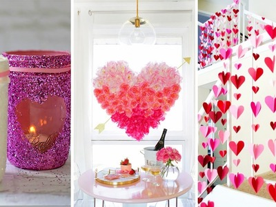 10+ DIY Valentine's Day Crafts and Romantic Room Decor Ideas