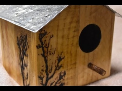 Bird house build - step by step