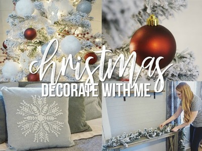 CHRISTMAS Decorate With Me 2018!! | Decorating For Christmas!