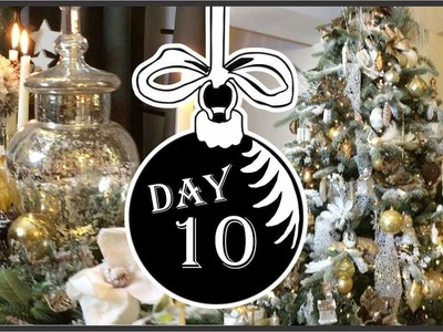 Christmas Home Tour 2018 | Collaboration hosted by Daveda Lane | Winter Wonderland Day 10