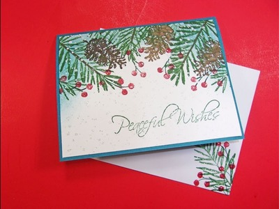 Day 2 of Seven Days of Easy Christmas Cards