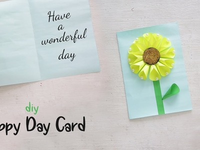 DIY Happy day Card | Handmade Card | Gift Ideas