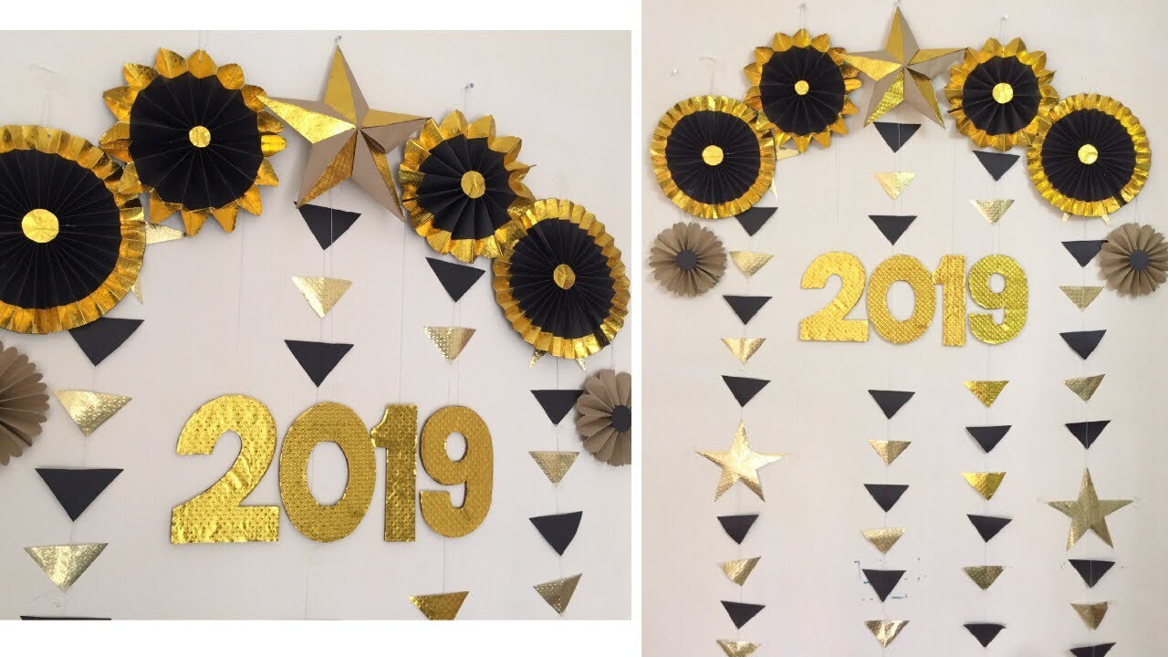 Easy Party Decoration Ideas at home for New Year, Birthday & for all function.
