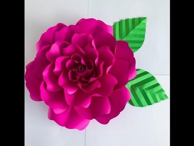 Easy to Make Giant Paper Flower Rose Using Petal 127