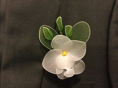 How to make a nylon stocking - Boutonniere