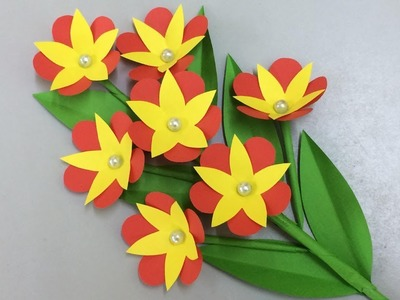 How to Make Beautiful Flower with Paper - Making Paper Flowers Step by Step - DIY Paper Flowers #24