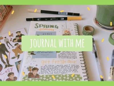 Journal with me #4 | spring flowers
