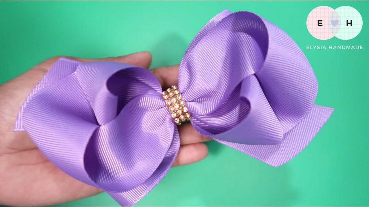 Laço de Fita ???? Ribbon Bow Tutorial 6 ???? DIY by Elysia Handmade