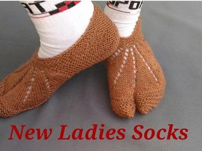 New And Easy Ladies  Thumb Socks
